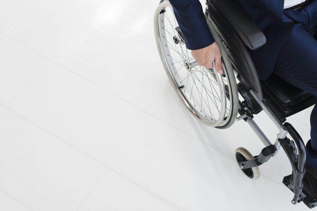 Ilustracija invaliditeta, izvor: freepik.com