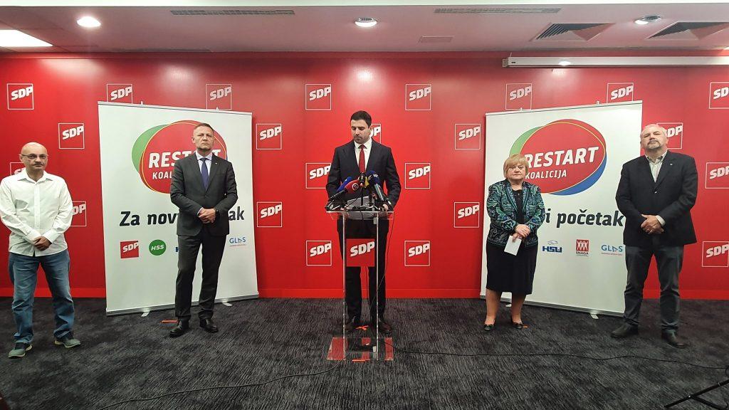 Restart koalicija, izvor: sdp hrvatske, twitter