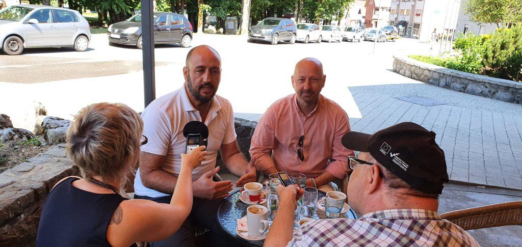Dalibor Fak i David Bregovacpredjednik Hrvatskih laburista
