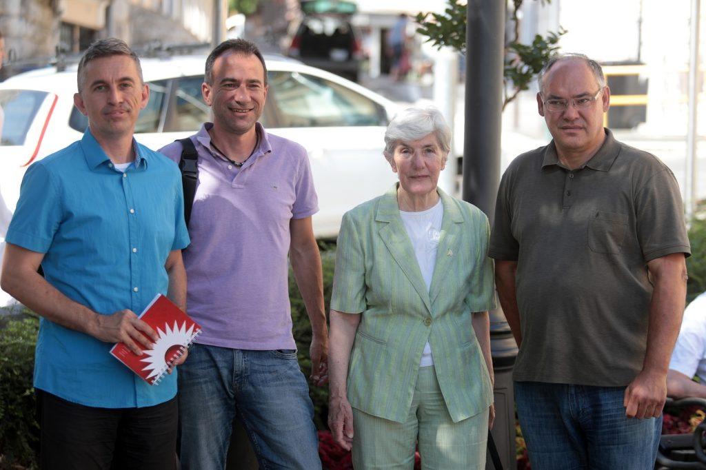 1 / 1 – Damir Kajin, Zvonimir Peranic, Suhreta Dumanic, Danko Svorinic, photo: Nel Pavletic - PIXSELL