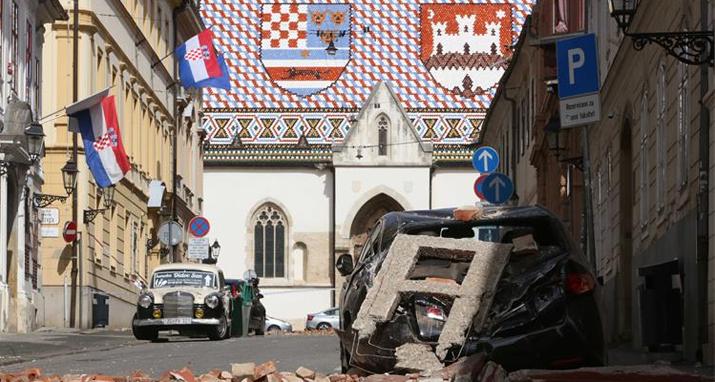 Razorni potres u Zagrebu, 22.3.2020., izvor: fzo.hr